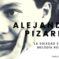 """""""La soledad sería esta melodía rota de mis frases..."""" - Selección de poemas de Alejandra Pizarnik"""
