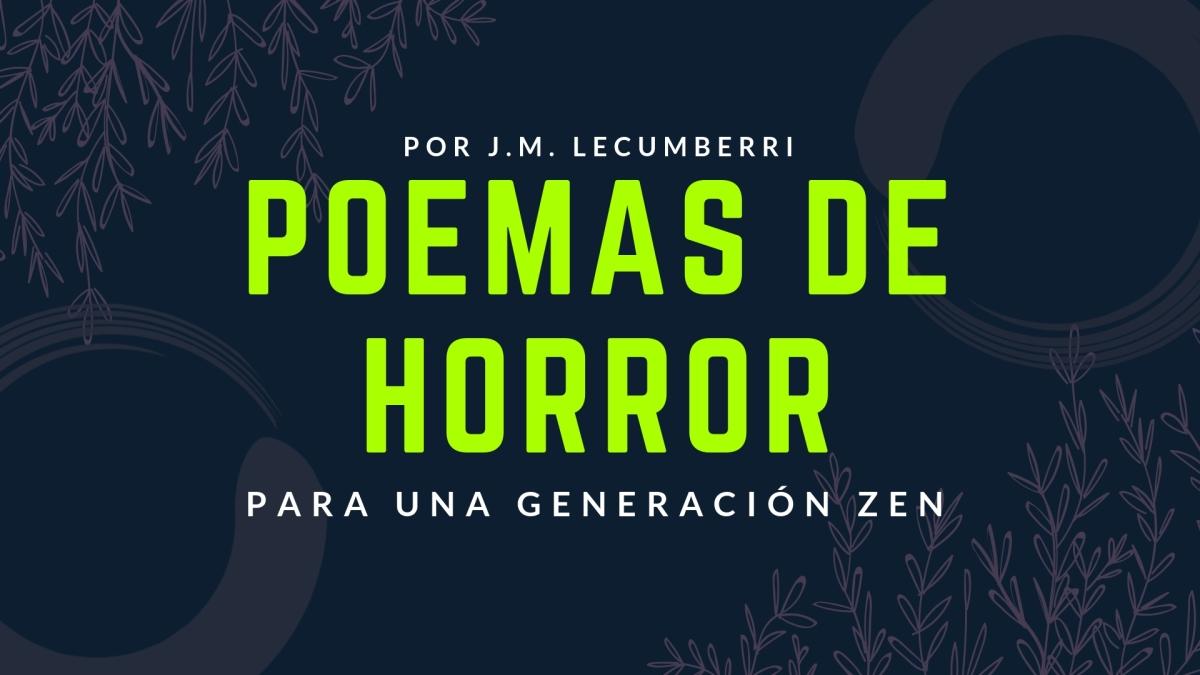 Poemas de horror para una Generación Zen
